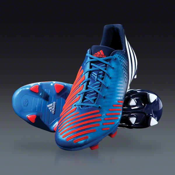 En riesgo barricada Milagroso  Elite Cleat Reviews » New Release: Adidas Predator LZ – Bright Blue/Infrared/Collegiate  Navy/White