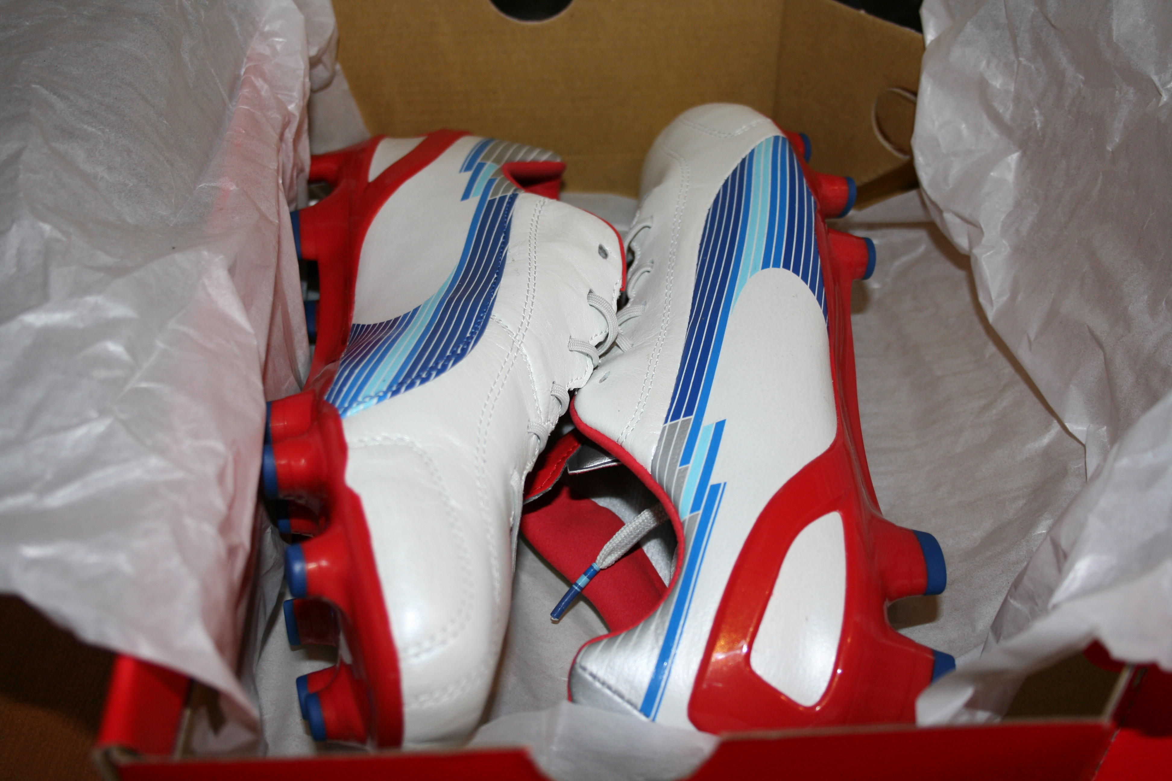 Elite Cleat Reviews » Just In  PUMA evoSPEED 1 K FG – White Limoges ... 1dc062aba